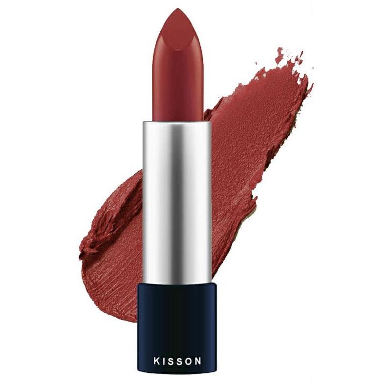 Son môi lâu trôi thảo dược KISSON việt nam (3.5g) - HÀNG CHÍNH HÃNG