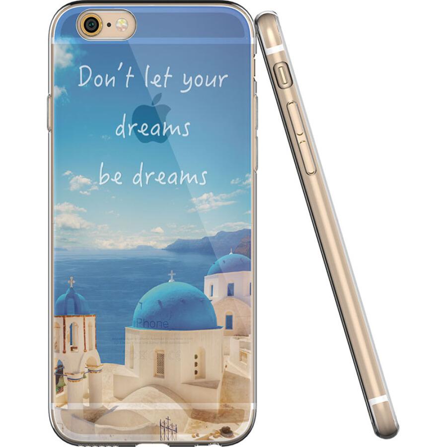 Ốp Lưng Nhựa Dẻo Illustrator Dành Cho iPhone 6/6S