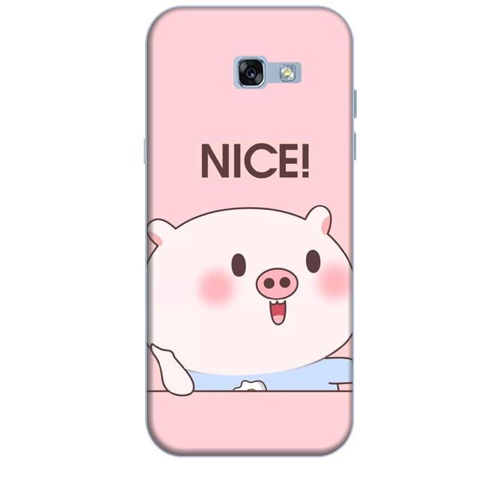 Ốp Lưng Dành Cho Điện Thoại Samsung Galaxy A7 2017 Heo Con