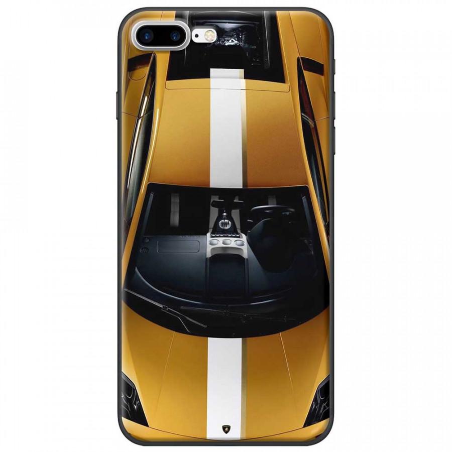 Ốp lưng dành cho iPhone 7 Plus mẫu Xe hơi vàng