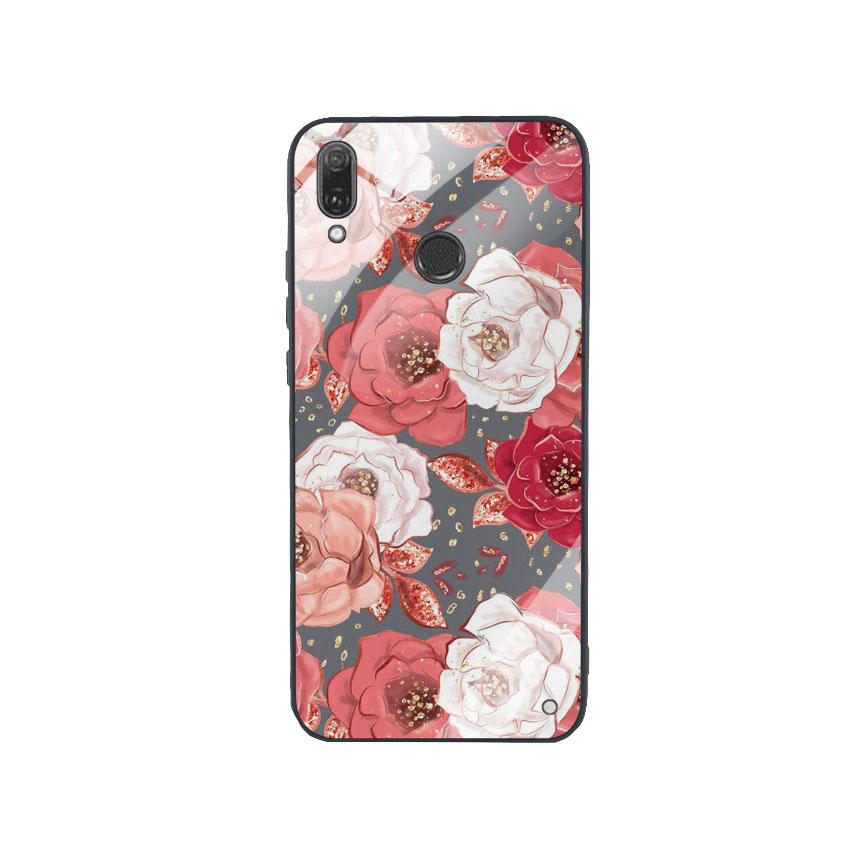 Ốp Lưng Kính Cường Lực cho điện thoại Huawei Y9 2019 -  0331 ROSE04