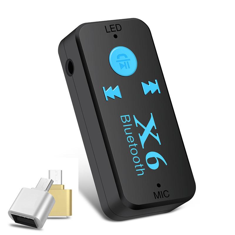 Bluetooth Kết Nối Âm Thanh Xe Ô Tô Bluetooth Car T6 Hàng Cao Cấp Tặng kèm đầu chuyển đổi OTG Micro usb sang Usb - 812000 , 1848001107385 , 62_14718696 , 180000 , Bluetooth-Ket-Noi-Am-Thanh-Xe-O-To-Bluetooth-Car-T6-Hang-Cao-Cap-Tang-kem-dau-chuyen-doi-OTG-Micro-usb-sang-Usb-62_14718696 , tiki.vn , Bluetooth Kết Nối Âm Thanh Xe Ô Tô Bluetooth Car T6 Hàng Cao Cấp T