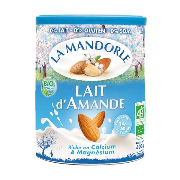 Thùng 6 hộp sữa bột hạnh nhân hữu cơ La mandorle 400g