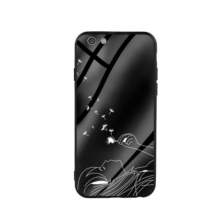 Ốp lưng kính cường lực cho điện thoại Iphone 6/6s - Bồ Công Anh