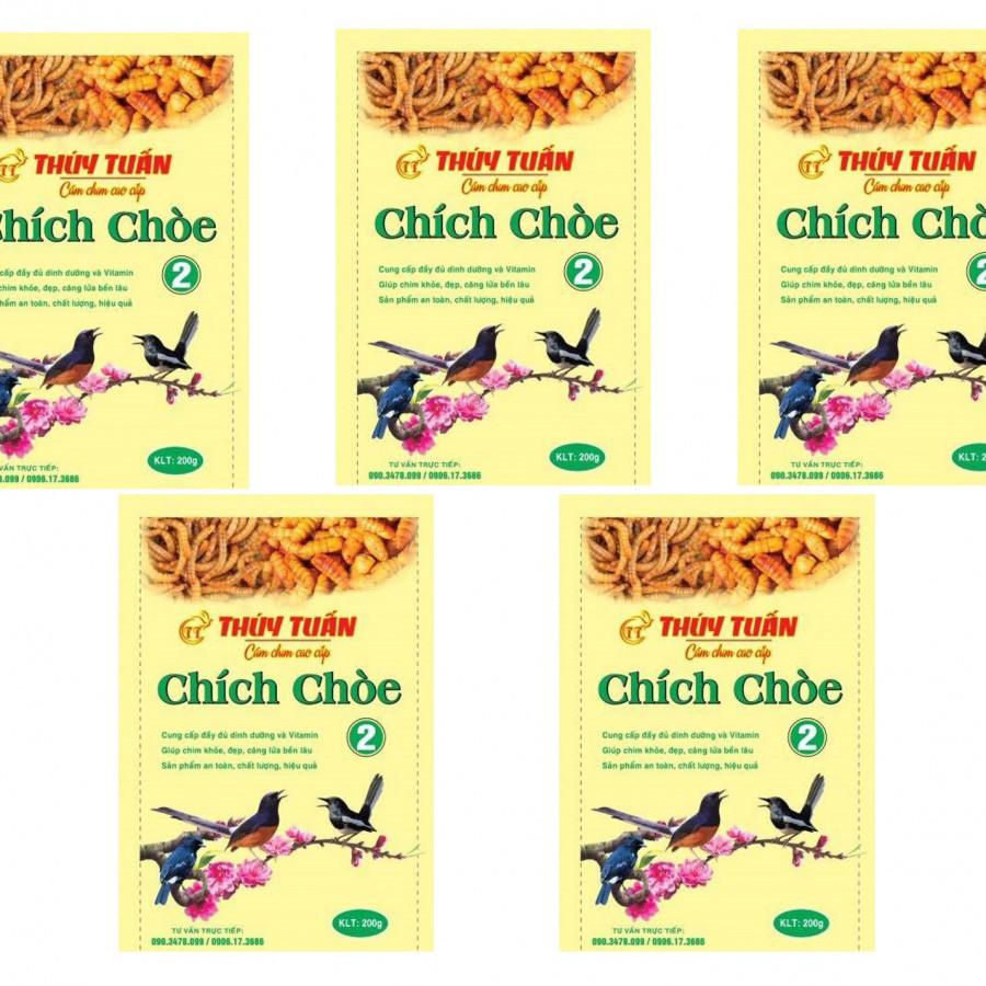 (Combo 5 gói) Cám chim Thúy Tuấn - Thức ăn dành cho các loại chim cảnh - 2241684 , 7927897964129 , 62_14387899 , 290000 , Combo-5-goi-Cam-chim-Thuy-Tuan-Thuc-an-danh-cho-cac-loai-chim-canh-62_14387899 , tiki.vn , (Combo 5 gói) Cám chim Thúy Tuấn - Thức ăn dành cho các loại chim cảnh
