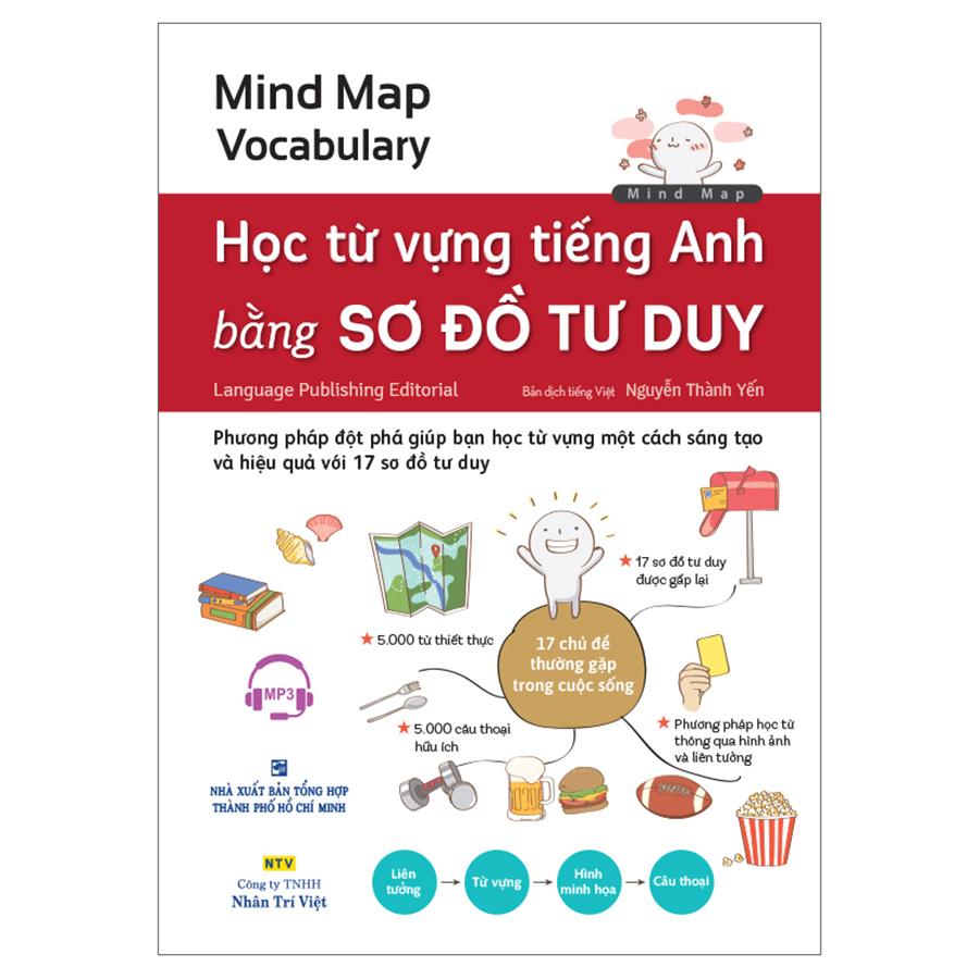 Mind Map Vocabulary - Học Từ Vựng Tiếng Anh Bằng Sơ Đồ Tư Duy (Kèm 1 Đĩa MP3) - 1326300 , 8103800734518 , 62_8512825 , 320000 , Mind-Map-Vocabulary-Hoc-Tu-Vung-Tieng-Anh-Bang-So-Do-Tu-Duy-Kem-1-Dia-MP3-62_8512825 , tiki.vn , Mind Map Vocabulary - Học Từ Vựng Tiếng Anh Bằng Sơ Đồ Tư Duy (Kèm 1 Đĩa MP3)