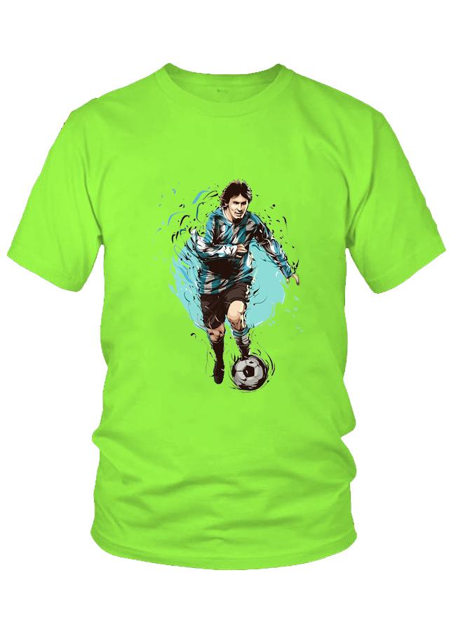 Áo thun nam thời trang VinaBoss Siêu Sao Bóng Đá Messi Mẫu 1