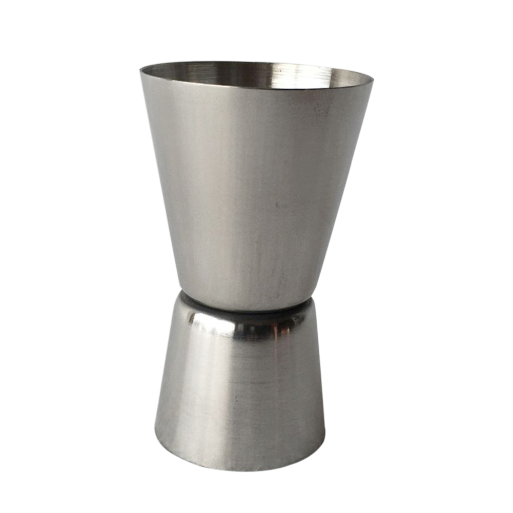 Stainless Steel Glass Cocktail Bartender Mixer Measuring Cup