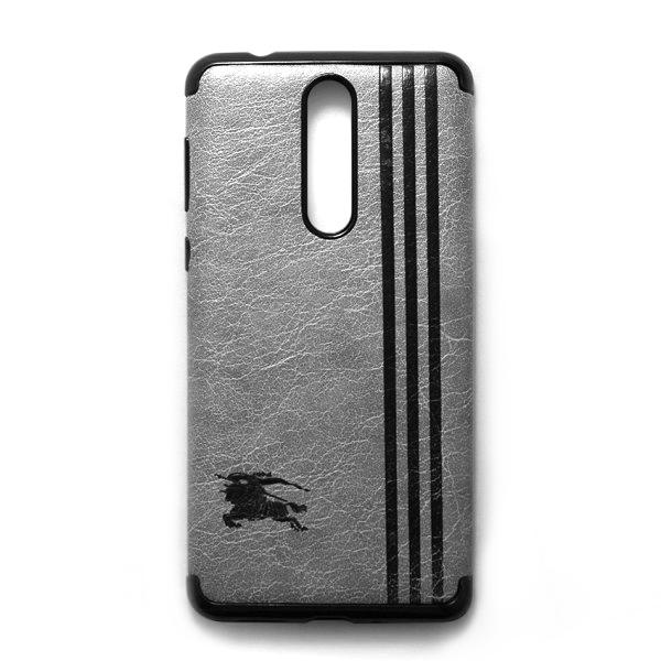 Ốp Lưng Da Kẻ Sọc Dành Cho Điện Thoại Nokia 8