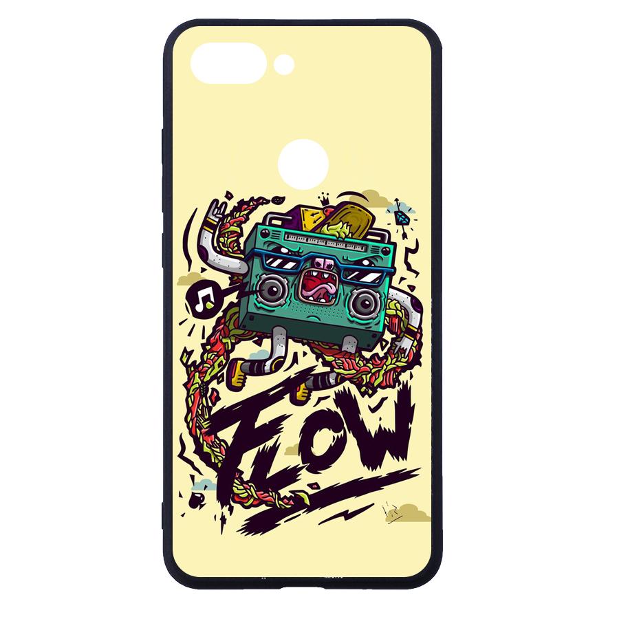 Ốp Lưng Dẻo Dành Cho Xiaomi Mi 8 Lite In Hình Phần A - Handtown - Hàng Chính Hãng