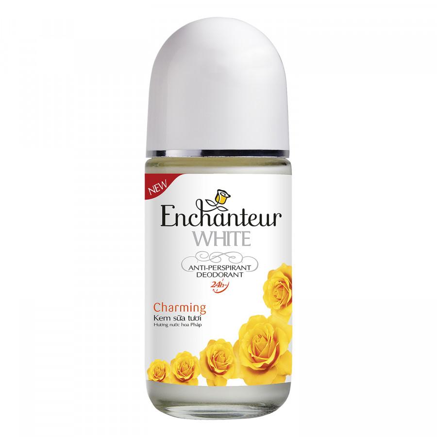 Lăn Khử Mùi Trắng Da Enchanteur Charming 50ml - 1012040