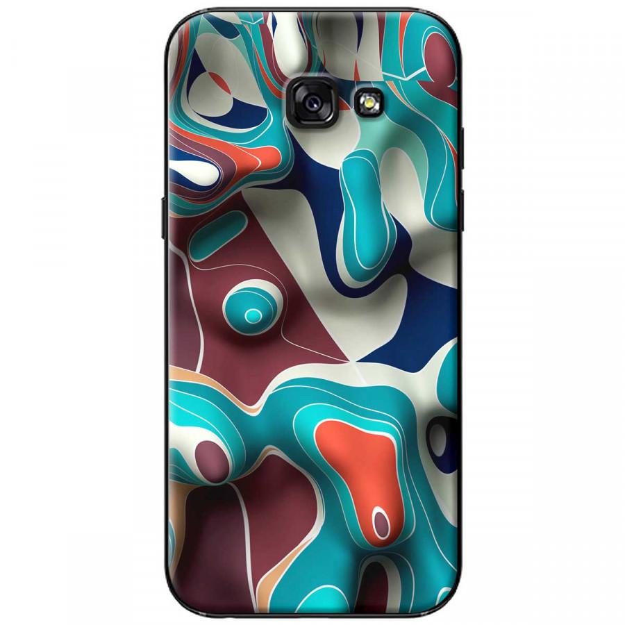 Ốp lưng dành cho Samsung A5 2017 Loang màu