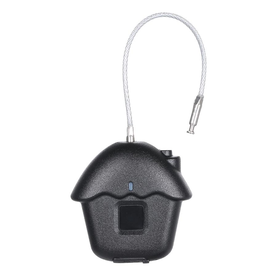 USB Rechargeable Intelligent Fingerprint Lock IP54 Waterproof Anti-theft Keyless Padlock Carry Luggage Case Lock - 1292051 , 9472467906538 , 62_13938186 , 814000 , USB-Rechargeable-Intelligent-Fingerprint-Lock-IP54-Waterproof-Anti-theft-Keyless-Padlock-Carry-Luggage-Case-Lock-62_13938186 , tiki.vn , USB Rechargeable Intelligent Fingerprint Lock IP54 Waterproof An