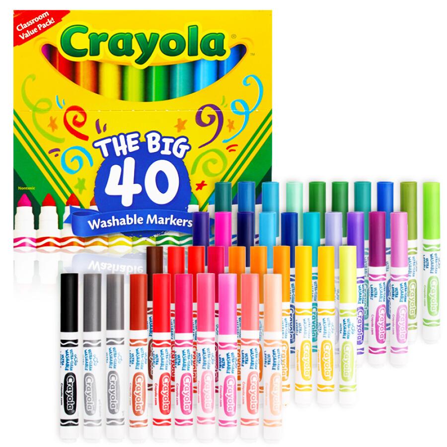 Bộ Bút Lông Màu Cao Cấp Crayola - 1621111 , 2302081653440 , 62_9116726 , 697000 , Bo-But-Long-Mau-Cao-Cap-Crayola-62_9116726 , tiki.vn , Bộ Bút Lông Màu Cao Cấp Crayola