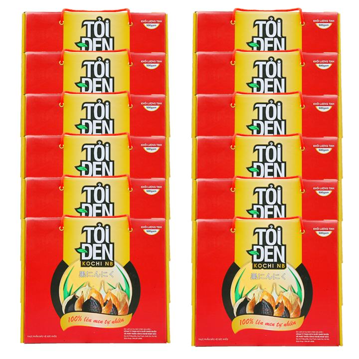Thục phẩm chức năng Tỏi đen Kochi cô đơn 500g x 12 hộp - 20099807 , 1054853324119 , 62_2822901 , 9800000 , Thuc-pham-chuc-nang-Toi-den-Kochi-co-don-500g-x-12-hop-62_2822901 , tiki.vn , Thục phẩm chức năng Tỏi đen Kochi cô đơn 500g x 12 hộp