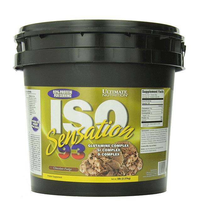 Sữa Tăng Cơ ISO Sensation 93 Ultimate Nutrition 5lb (2.27Kg) (Vị Ngẫu Nhiên)