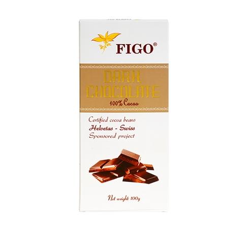 Kẹo Socola Đen Đắng 100% Cacao Figo (100gram) - 907738 , 9563244627767 , 62_1710959 , 105000 , Keo-Socola-Den-Dang-100Phan-Tram-Cacao-Figo-100gram-62_1710959 , tiki.vn , Kẹo Socola Đen Đắng 100% Cacao Figo (100gram)