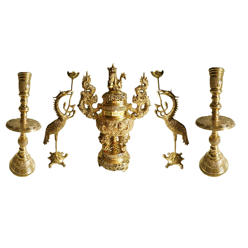 Bộ ngũ sự 5 món Lư hương đỉnh đồng đồ thờ phụng bằng đồng thau Tâm Thành Phát - 1158989 , 3970782278089 , 62_7430369 , 6000000 , Bo-ngu-su-5-mon-Lu-huong-dinh-dong-do-tho-phung-bang-dong-thau-Tam-Thanh-Phat-62_7430369 , tiki.vn , Bộ ngũ sự 5 món Lư hương đỉnh đồng đồ thờ phụng bằng đồng thau Tâm Thành Phát