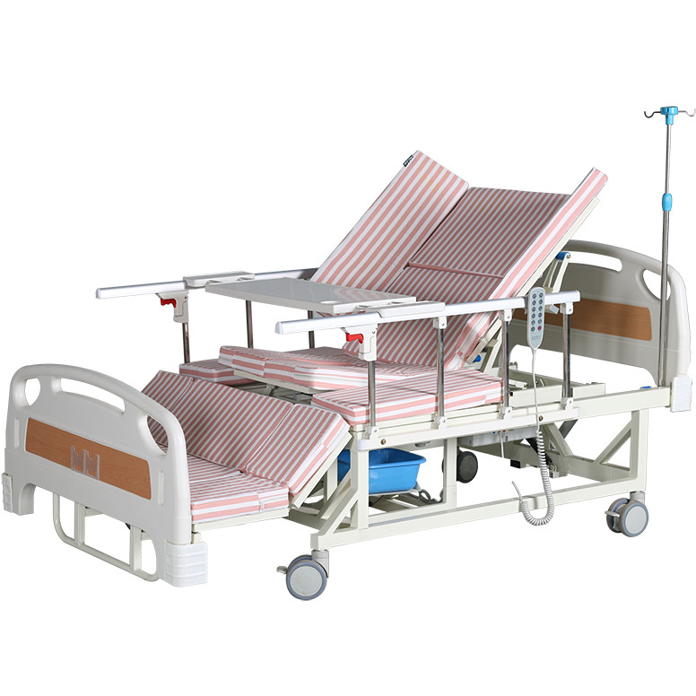 Giường bệnh Trần Gia 12 chức năng điều khiển bằng điện có pin tích điện