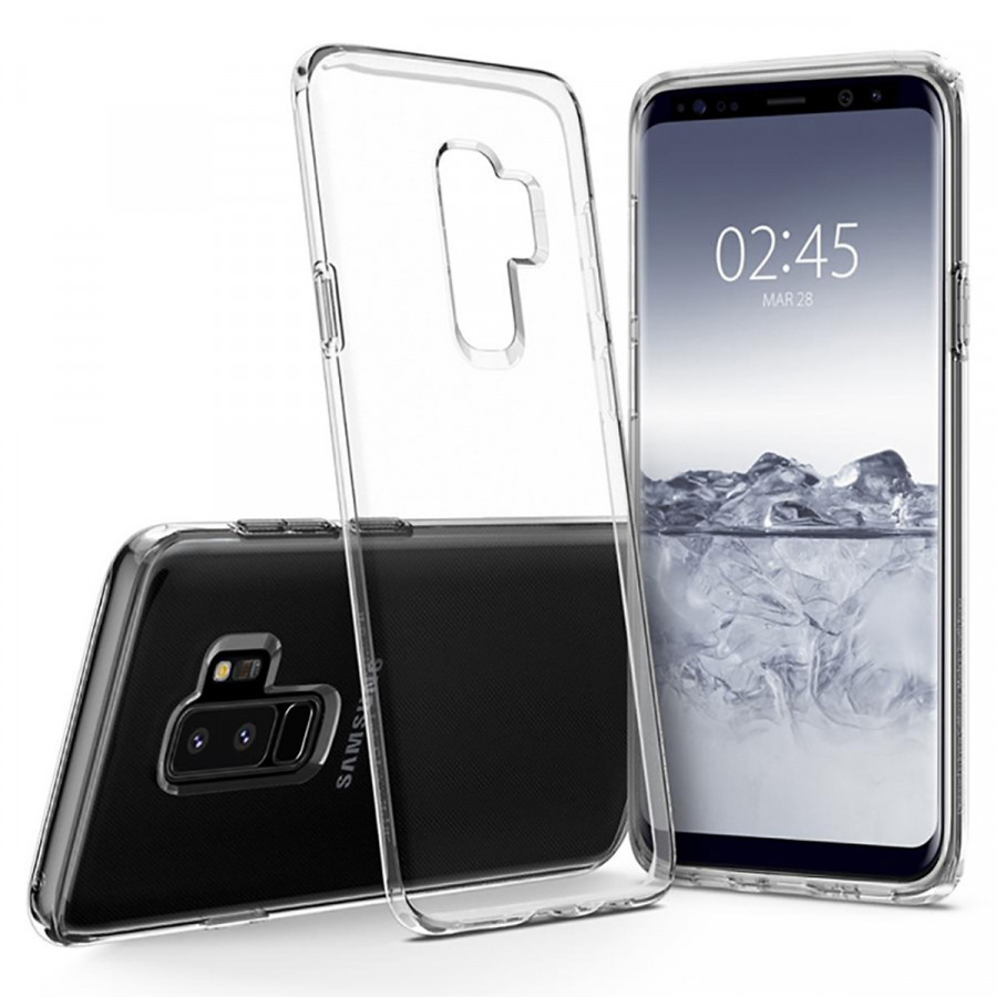 Ốp dẻo silicon cho Samsung S9 Plus - Trong suốt