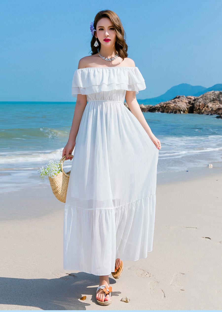 Váy Maxi Đi Biển Đẹp - 7780126 , 3599184034286 , 62_16170817 , 679000 , Vay-Maxi-Di-Bien-Dep-62_16170817 , tiki.vn , Váy Maxi Đi Biển Đẹp