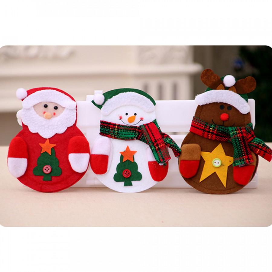 Túi Đựng Dao Nĩa Giáng Sinh (3 Cái)