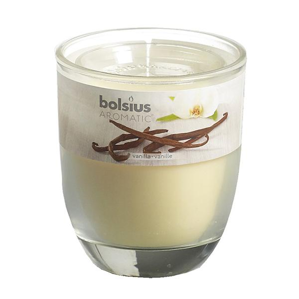 Ly nến thơm Bolsius Vanilla BOL7662 295g (Hương Vani)