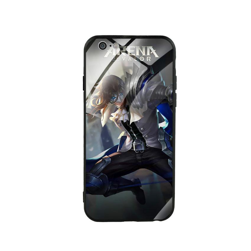 Ốp lưng kính cường lực cho điện thoại Iphone 6/6s - Game 31