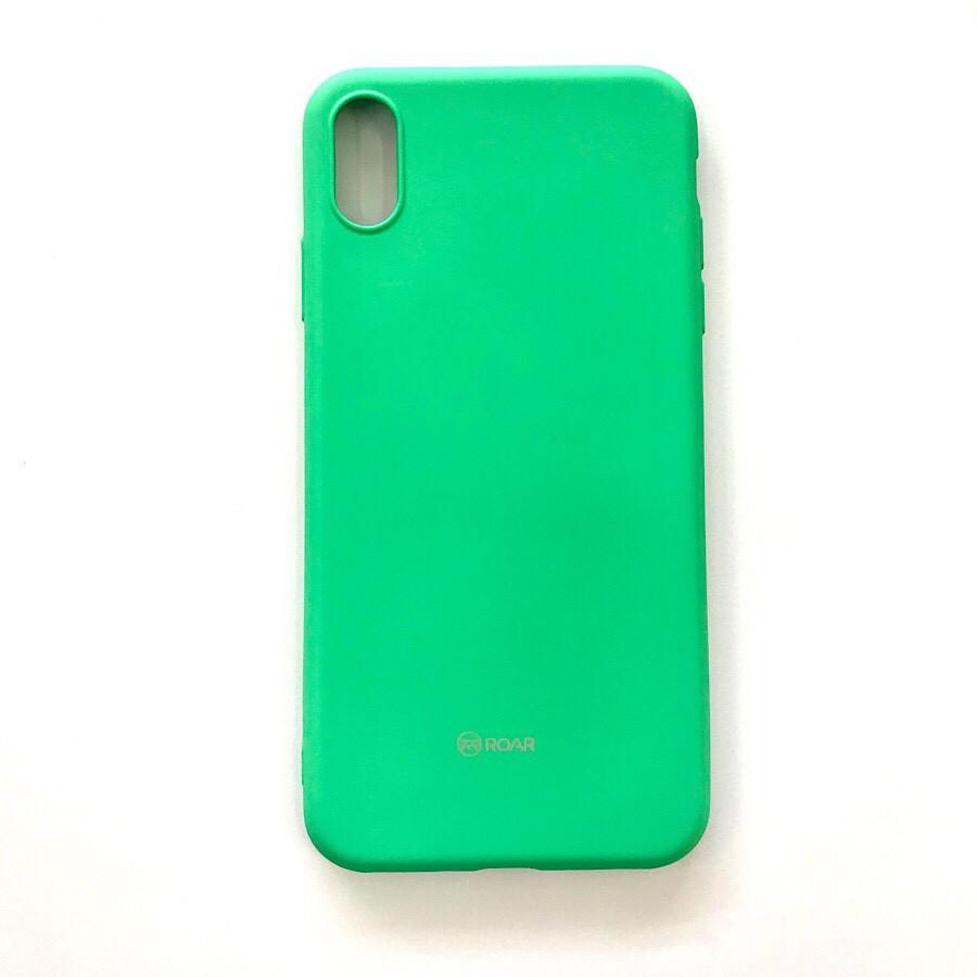 Ốp lưng dành cho iPhone Xs Max hiệu ROAR Colorful silicone chống sốc