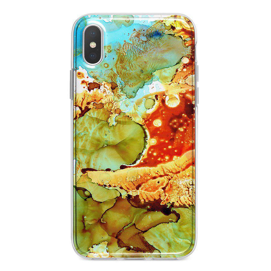 Ốp Lưng Điện Thoại Vân Đá Cho iPhone X A-001-019-C-IPX
