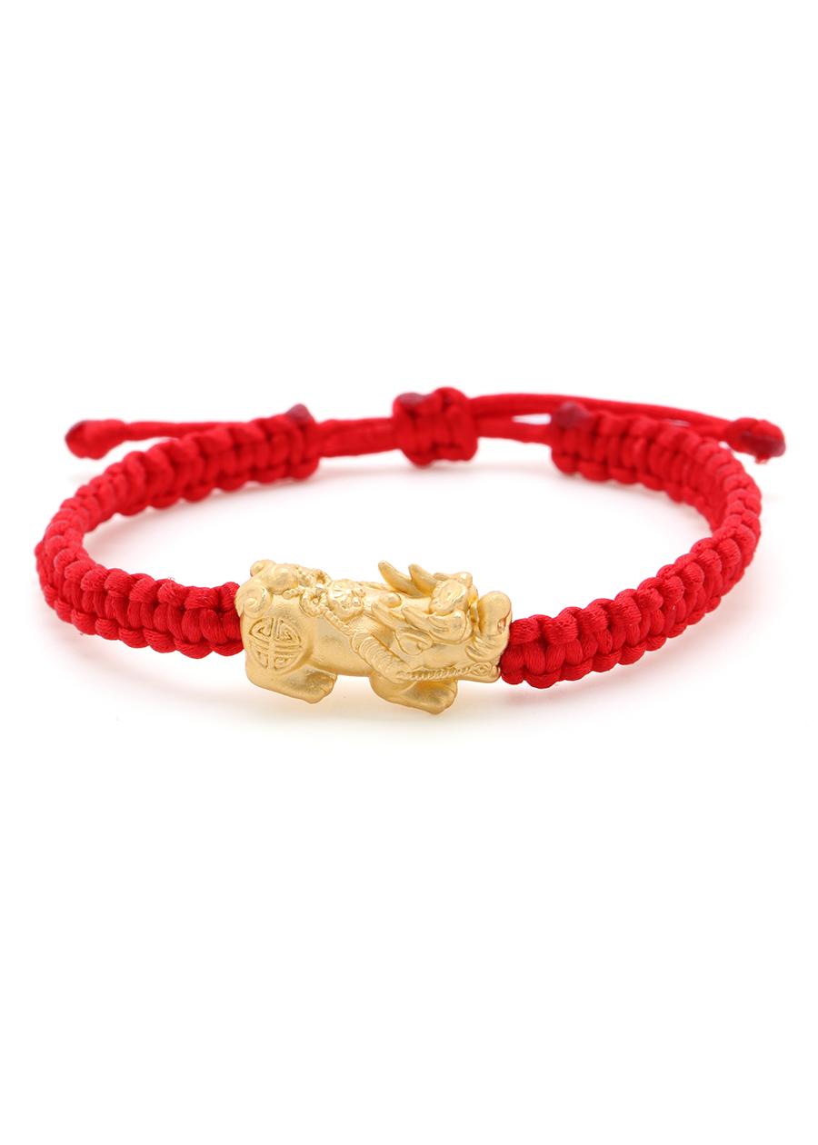 Vòng Tay Handmade Vàng 24K Tỳ Hưu Tụ Lộc - ANCARAT