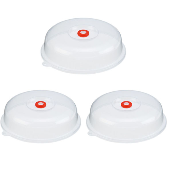 Combo 3 nắp đậy dùng cho lò vi sóng nội địa Nhật Bản