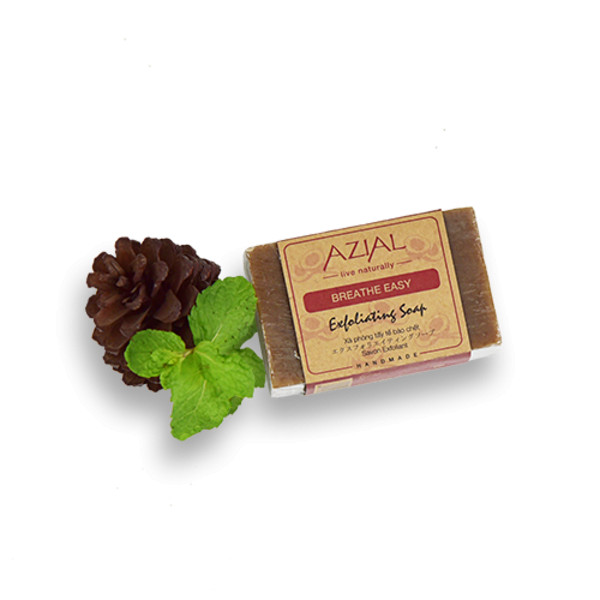 Xà Phòng Tắm Tẩy Tế Bào Chết Chiết Xuất Lá Bạc Hà Khô 100% Thiên Nhiên AZIAL Breathe Easy Exfoliating Soap 100g - 7564954 , 2051109344371 , 62_16667011 , 108900 , Xa-Phong-Tam-Tay-Te-Bao-Chet-Chiet-Xuat-La-Bac-Ha-Kho-100Phan-Tram-Thien-Nhien-AZIAL-Breathe-Easy-Exfoliating-Soap-100g-62_16667011 , tiki.vn , Xà Phòng Tắm Tẩy Tế Bào Chết Chiết Xuất Lá Bạc Hà Khô 100
