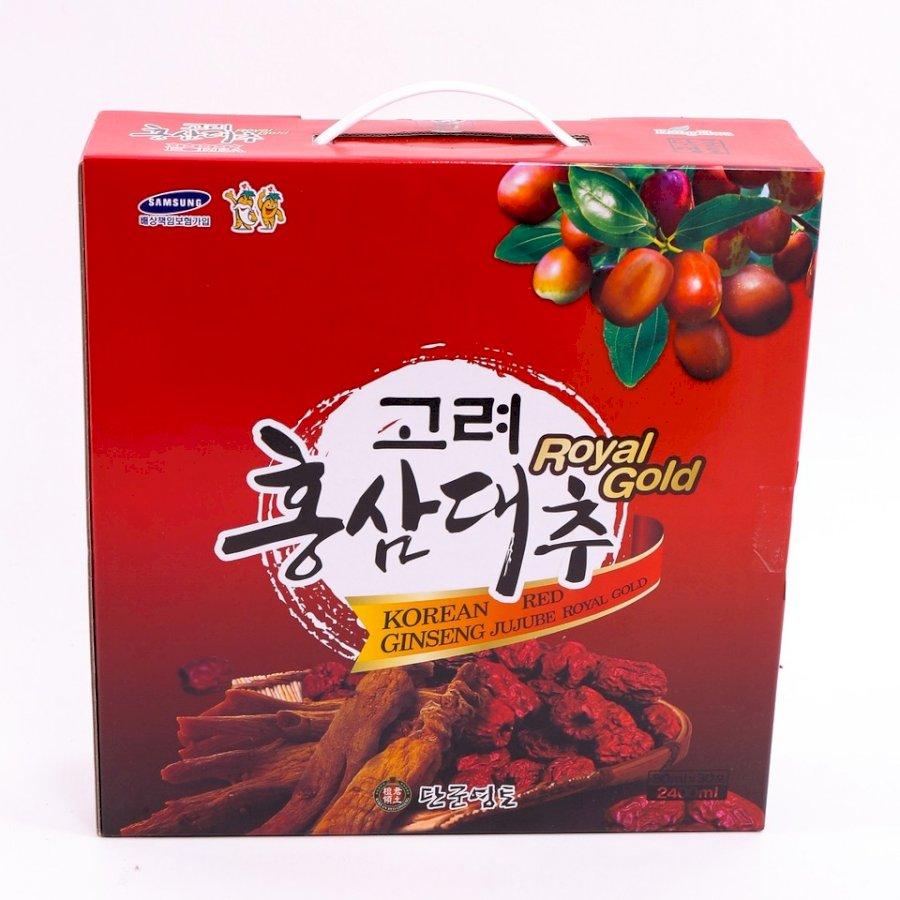 Nước Uống Hồng Sâm Táo- KOREAN RED GINSENG JUJUBE ROYAL