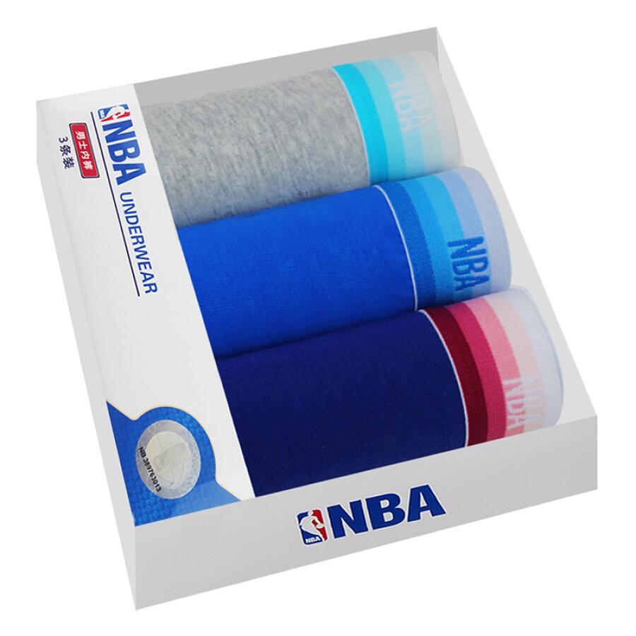 Hộp Quà Tặng Quần Lót Vải Cotton NBA