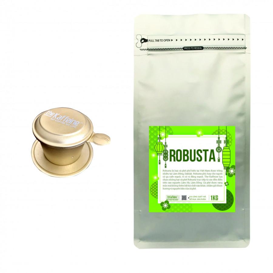 Cà phê Robusta Rang Xay Nguyên Chất 1KG - Tặng phin nhôm cao cấp trị giá 99k - The Kaffeine - 9605843 , 1428354824803 , 62_19265417 , 250000 , Ca-phe-Robusta-Rang-Xay-Nguyen-Chat-1KG-Tang-phin-nhom-cao-cap-tri-gia-99k-The-Kaffeine-62_19265417 , tiki.vn , Cà phê Robusta Rang Xay Nguyên Chất 1KG - Tặng phin nhôm cao cấp trị giá 99k - The Kaffei