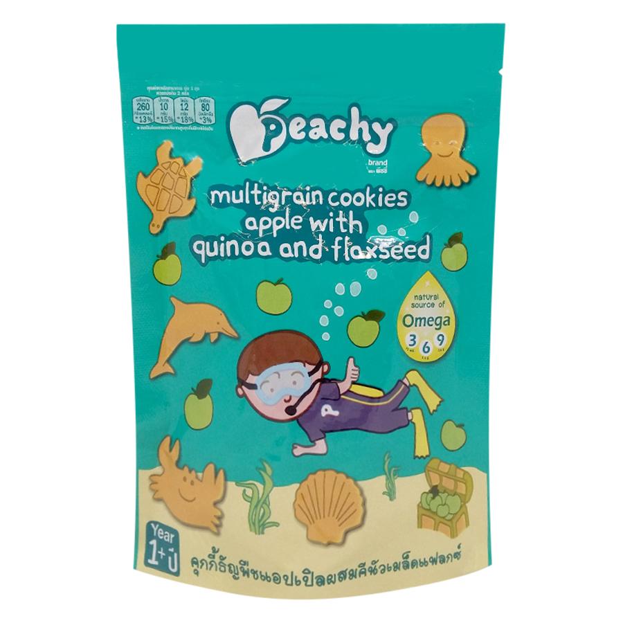 Bánh Cookies Ngũ Cốc Táo Với Hạt Diêm Mạch Và Hạt Lanh Peachy (50g) - 1460287 , 1386759661235 , 62_13525508 , 33000 , Banh-Cookies-Ngu-Coc-Tao-Voi-Hat-Diem-Mach-Va-Hat-Lanh-Peachy-50g-62_13525508 , tiki.vn , Bánh Cookies Ngũ Cốc Táo Với Hạt Diêm Mạch Và Hạt Lanh Peachy (50g)