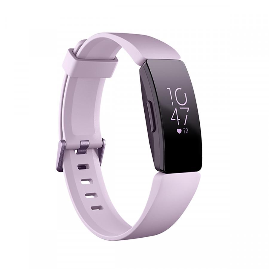 Đồng Hồ Thông Minh Fitbit Inspire HR Lilac/Lilac FB413LVLV - Hàng Nhập Khẩu