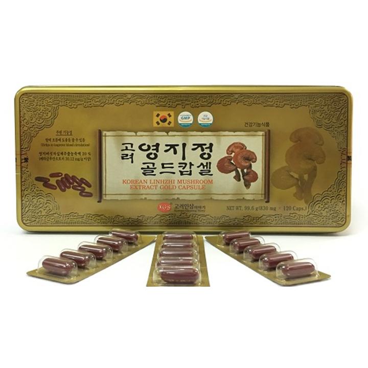 Thực phẩm chức năng Viên Linh Chi KGS Hộp Thiếc - 1684609 , 6284718493062 , 62_11739393 , 1000000 , Thuc-pham-chuc-nang-Vien-Linh-Chi-KGS-Hop-Thiec-62_11739393 , tiki.vn , Thực phẩm chức năng Viên Linh Chi KGS Hộp Thiếc