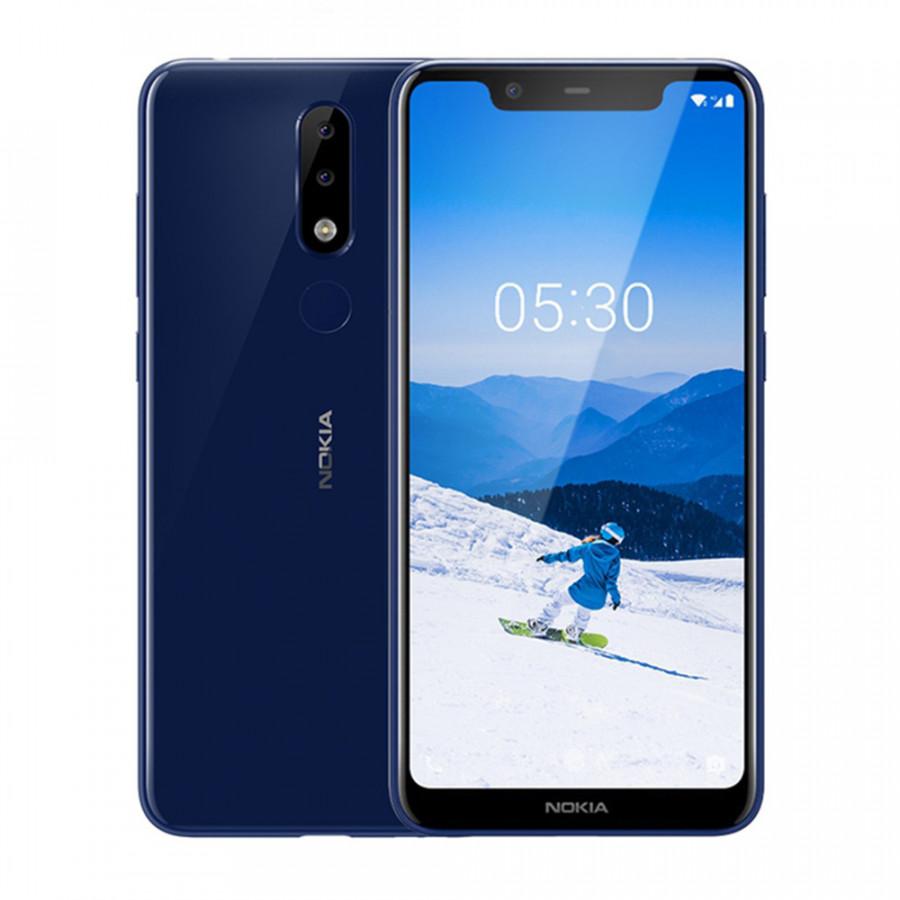 2018 Nokia X5 Mobile Phone 5.86Inch 3GB RAM 32GB ROM 13MP 3Cameras Android8.1 Helio P60 Octa Core 3060mAh 4G Fingerprint