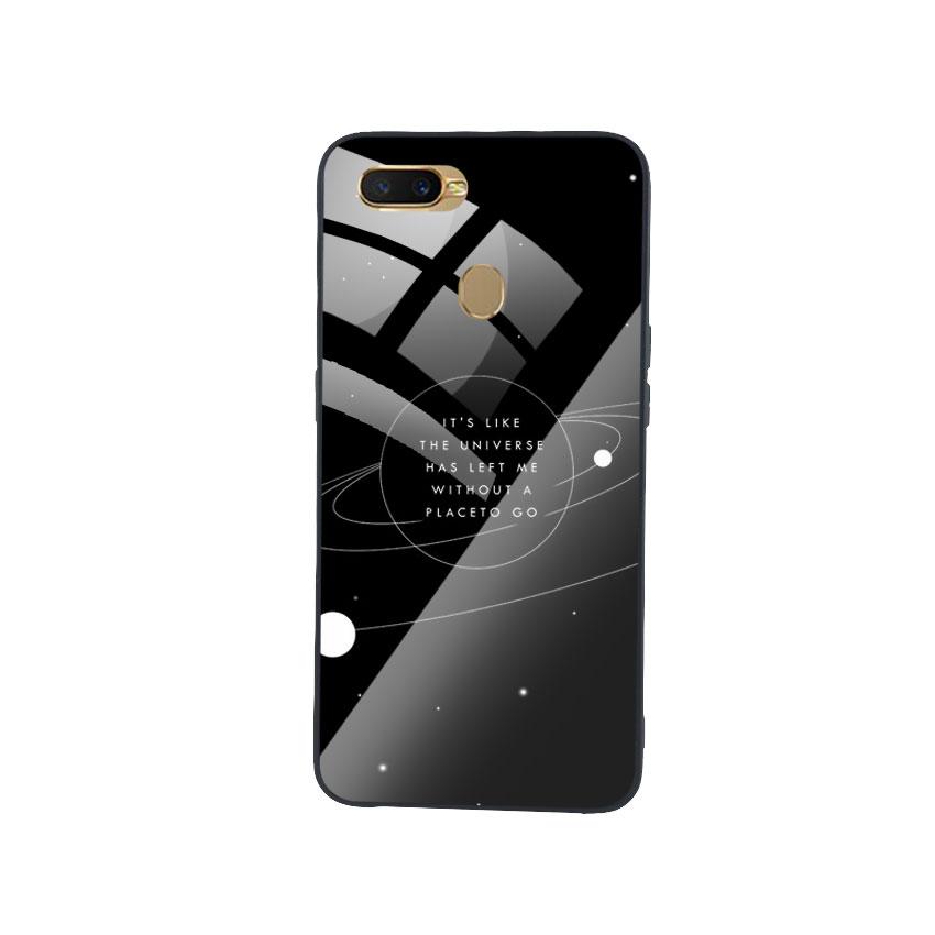 Ốp Lưng Kính Cường Lực cho điện thoại Oppo A7 - Alone 02
