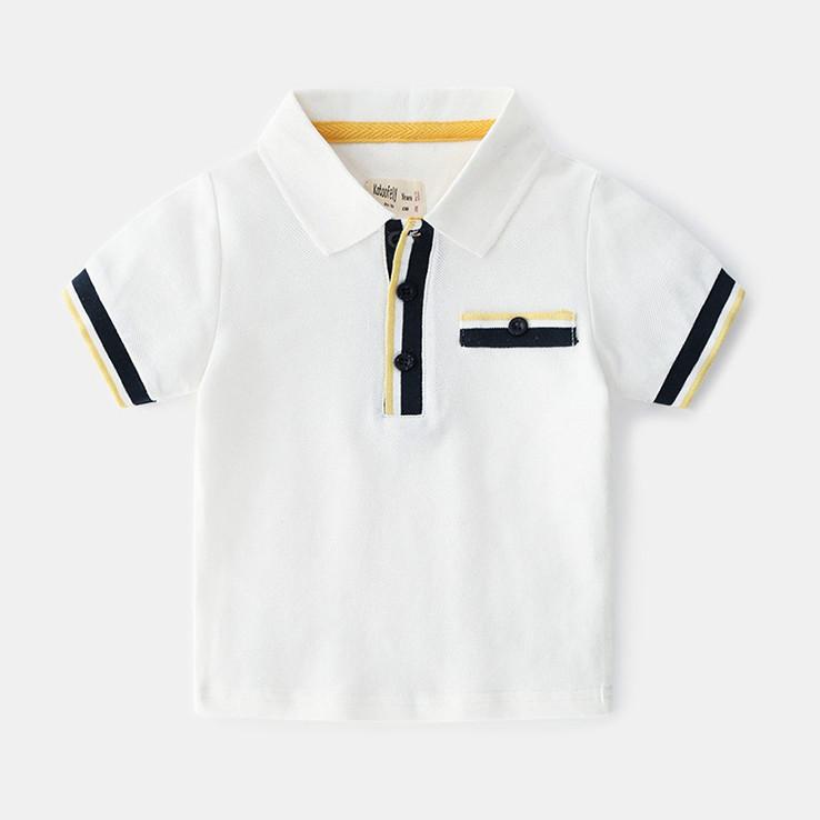 Áo thun ngắn tay có cổ POLO cho bé trai vải cotton mềm mịn siêu mát - 840310 , 3851747012262 , 62_12592864 , 250000 , Ao-thun-ngan-tay-co-co-POLO-cho-be-trai-vai-cotton-mem-min-sieu-mat-62_12592864 , tiki.vn , Áo thun ngắn tay có cổ POLO cho bé trai vải cotton mềm mịn siêu mát