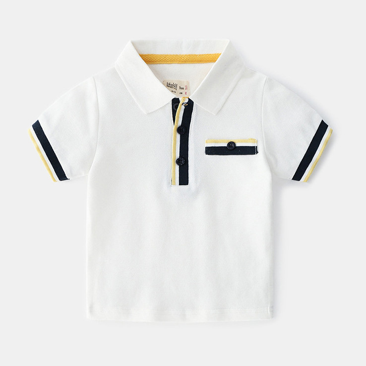Áo thun ngắn tay có cổ POLO cho bé trai vải cotton mềm mịn siêu mát - 840311 , 4315024071919 , 62_12592866 , 250000 , Ao-thun-ngan-tay-co-co-POLO-cho-be-trai-vai-cotton-mem-min-sieu-mat-62_12592866 , tiki.vn , Áo thun ngắn tay có cổ POLO cho bé trai vải cotton mềm mịn siêu mát