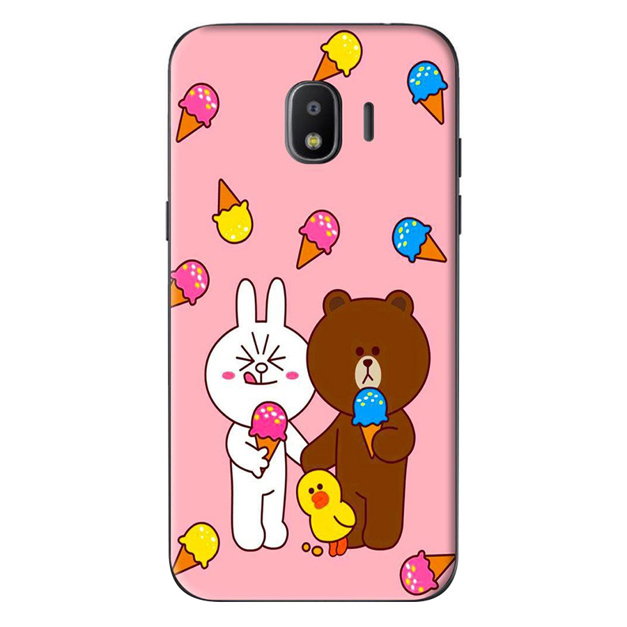 Ốp Lưng Dành Cho Samsung Galaxy J4 2018 / J2 Pro 2018 - Thỏ Gấu Line Ăn Kem - 1082294 , 9267687441644 , 62_6838237 , 120000 , Op-Lung-Danh-Cho-Samsung-Galaxy-J4-2018--J2-Pro-2018-Tho-Gau-Line-An-Kem-62_6838237 , tiki.vn , Ốp Lưng Dành Cho Samsung Galaxy J4 2018 / J2 Pro 2018 - Thỏ Gấu Line Ăn Kem