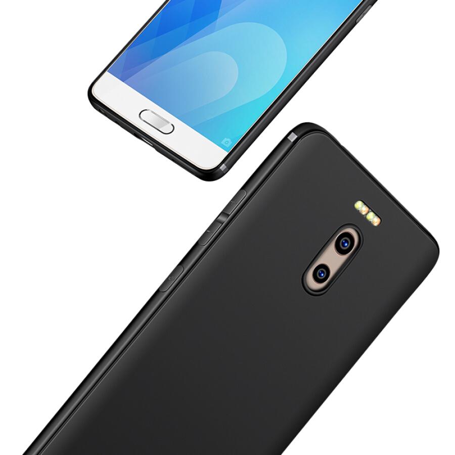Ốp Lưng Silicon Cho Điện Thoại Meizu Charm Blue Note 6 Freeson