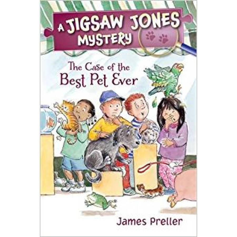 Jigsaw Jones #25: The Case of the Vanishing Pain Jigsaw Jones