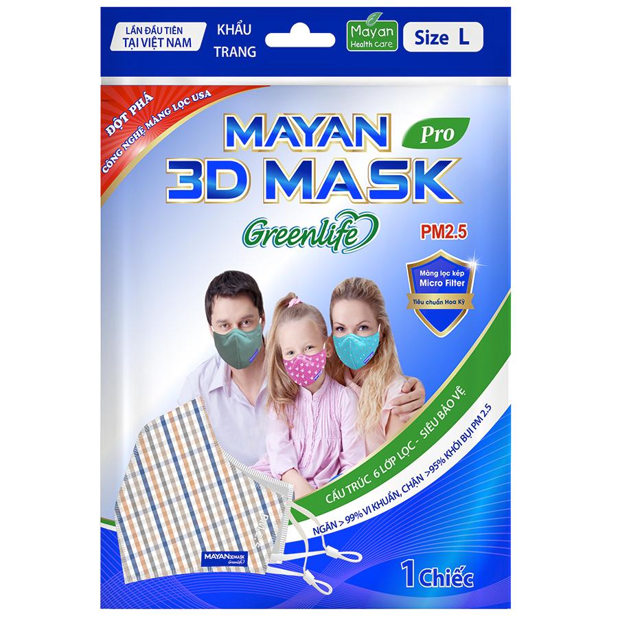 Khẩu Trang Mayan 3D Pro PM2.5 - 1052284 , 8936010541016 , 62_3567167 , 25000 , Khau-Trang-Mayan-3D-Pro-PM2.5-62_3567167 , tiki.vn , Khẩu Trang Mayan 3D Pro PM2.5