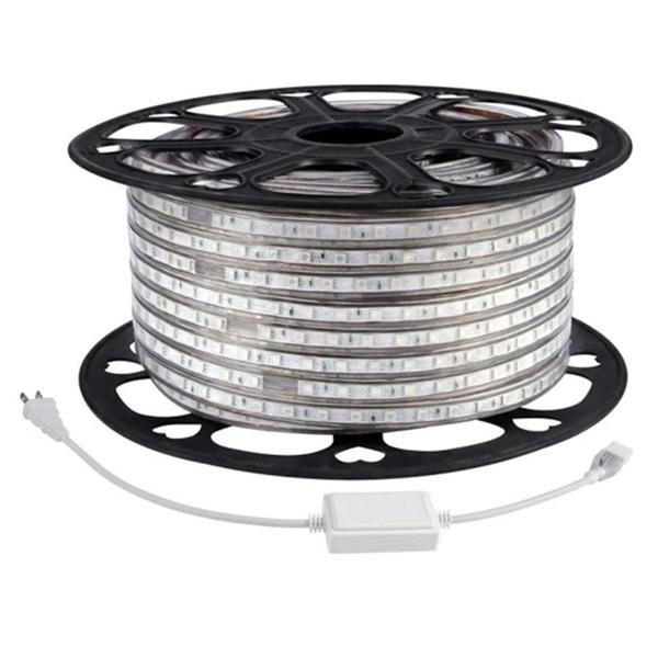 Bộ 10 Mét Đèn LED Dây 5050/220V 1 Màu Và 1 Đầu Nối Dây Nguồn