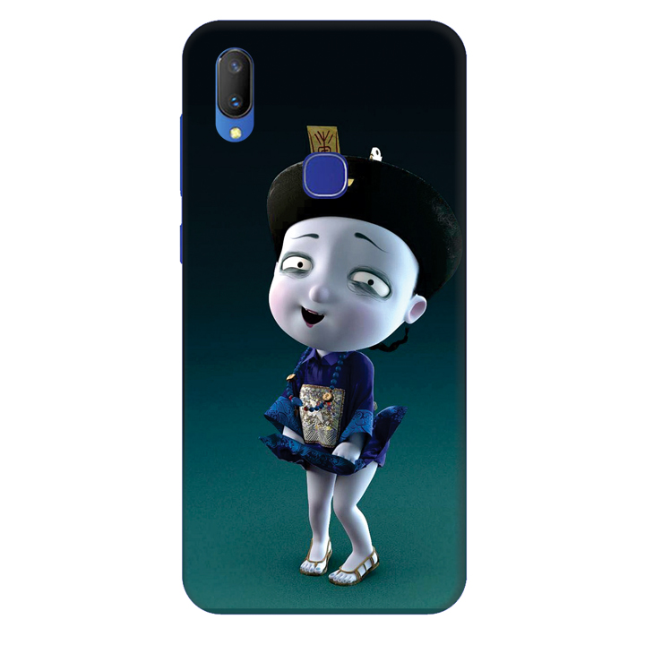 Ốp lưng dành cho điện thoại Vivo V11/V11 Pro - Tiểu Cương Thi Nữ
