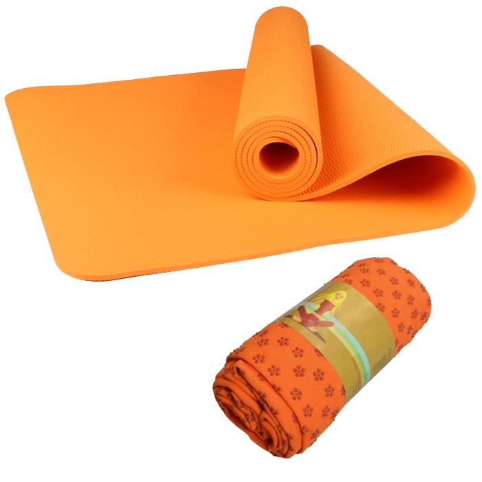 Combo Thảm tập yoga TPE 8mm 1 lớp (Cam) + Khăn trải thảm hạt nổi silicon (Màu ngẫu nhiên) - 1336237 , 6018949755138 , 62_5573991 , 650000 , Combo-Tham-tap-yoga-TPE-8mm-1-lop-Cam-Khan-trai-tham-hat-noi-silicon-Mau-ngau-nhien-62_5573991 , tiki.vn , Combo Thảm tập yoga TPE 8mm 1 lớp (Cam) + Khăn trải thảm hạt nổi silicon (Màu ngẫu nhiên)